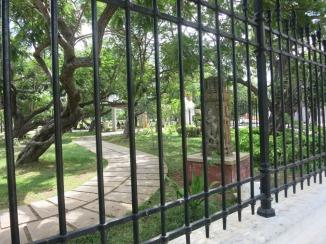Public Garden in Pondi